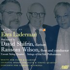 Cover for Music of Ezra Laderman, Vol. 8