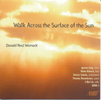 Cover for Donald Reid Womack: Walk Across the Surface of the Sun