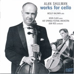 Cover for Alan Shulman: Works for Cello