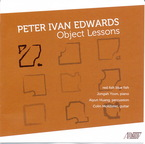 Cover for Peter Ivan Edwards: Object Lessons