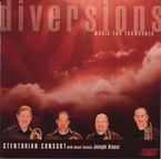 Cover for Diversions  (Music for Trombones)