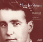 Cover for Harold Brown: Music for Strings