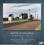 Cover for David Maslanka: Symphony No. 9