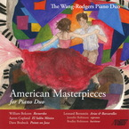 Cover for American Masterpieces for Piano Duo