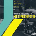 Cover for American Masterpieces for Solo Percussion