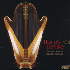 Cover for Harp's Desire: The Harp Music of David S. Lefkowitz