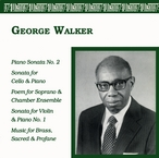 Cover for George Walker: Chamber Music