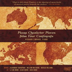Cover for Piano Character Pieces from Four Continents