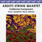 Cover for Cohn/Goldstein/Davis/Stalvey: Music for String Quartet
