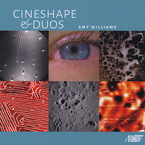 Cover for Amy Williams: Cineshape & Duos