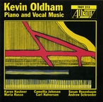 Cover for Kevin Oldham: Piano & Vocal Music