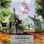 Cover for Choral Music of Ned Rorem