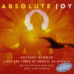 Cover for Anthony Newman: Absolute Joy
