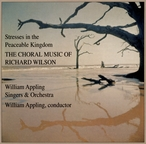 Cover for Choral Music of Richard Wilson
