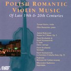 Cover for Polish Romantic Violin Music
