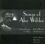 Cover for Songs of Alec Wilder