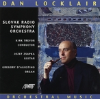 Cover for Dan Locklair: Orchestral Music