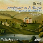 Cover for John Powell: Symphony in A Major