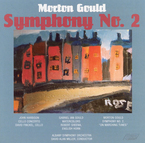 Cover for Morton Gould: Symphony No. 2