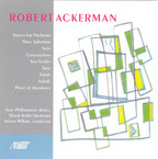 Cover for Robert Ackerman: Orchestral Works