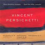 Cover for Vincent Persichetti: Third, Fourth, Seventh Symphonies
