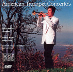 Cover for American Trumpet Concertos