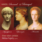 Cover for Scorned and Betrayed – Handel Cantatas