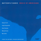 Cover for Butterfly Dance: Music by Americans