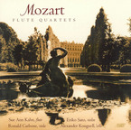 Cover for Mozart: Flute Quartets
