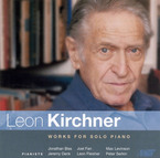 Cover for Leon Kirchner: Works for Solo Piano
