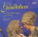 Cover for Gilbert & Sullivan: The Gondoliers