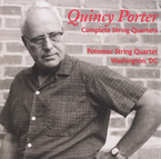 Cover for Quincy Porter: Complete String Quartets