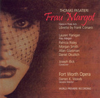 Cover for Thomas Pasatieri: Frau Margot