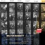 Cover for Milton Babbitt: All Set