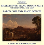 Cover for Ives & Copland: Piano Sonatas