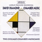 Cover for Diamond: Chamber Music