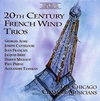 Cover for 20th Century French Wind Trios