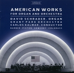 Cover for American Works for Organ and Orchestra