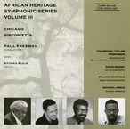 Cover for African Heritage Symphonic Series, Vol. III