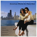 Cover for American Works for Duo Piano