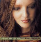 Cover for Rachel Barton Pine: Solo Baroque