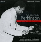 Cover for Coleridge-Taylor Perkinson: A Celebration