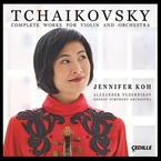 Cover for Tchaikovsky: Complete Works for Violin and Orchestra