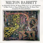 Cover for Music of Milton Babbitt