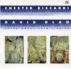 Cover for Music of Chester Biscardi and David Olan