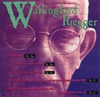 Cover for Music of Wallingford Riegger