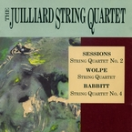 Cover for Juilliard String Quartet plays Sessions, Wolpe & Babbitt