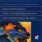 Cover for Music of Hale Smith, Sheila Silver & Joel Hoffman