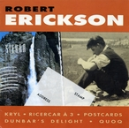 Cover for Music of Robert Erickson