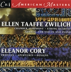 Cover for Music of Ellen Taaffe Zwilich & Eleanor Cory